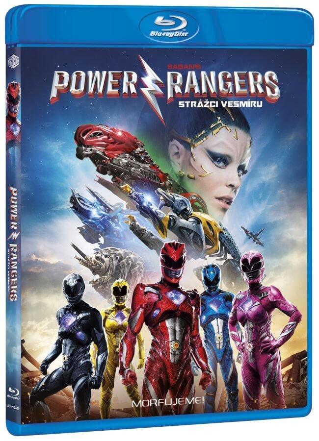 Power rangers - Strážci vesmíru - Blu-ray