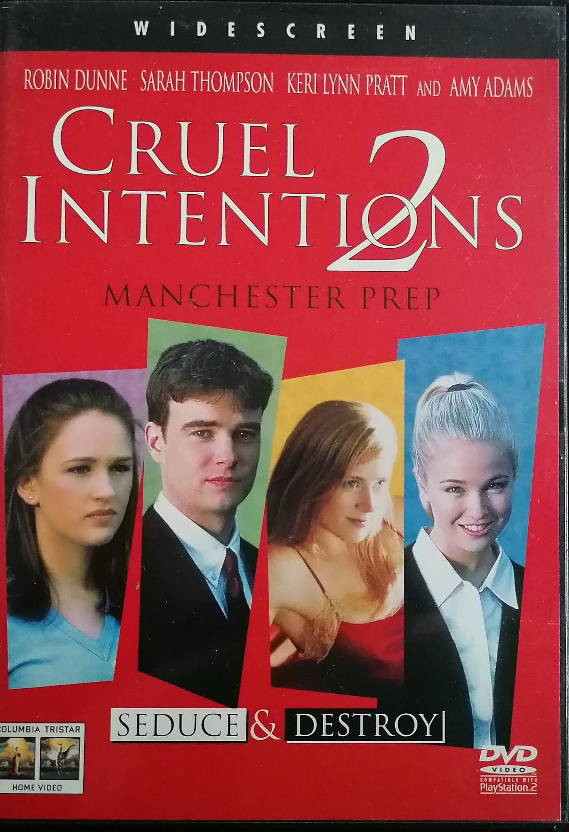 Cruel Intentions 2 ( Velmi nebezpečné známosti 2) - DVD plast