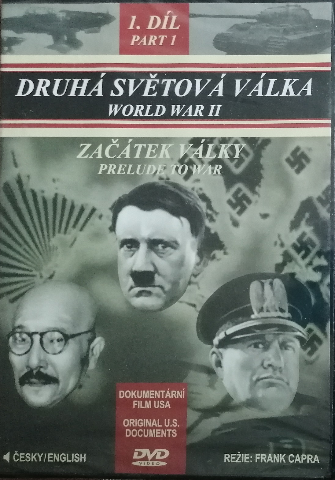 Druhá světová válka 1. díl - začátek války - DVD plast