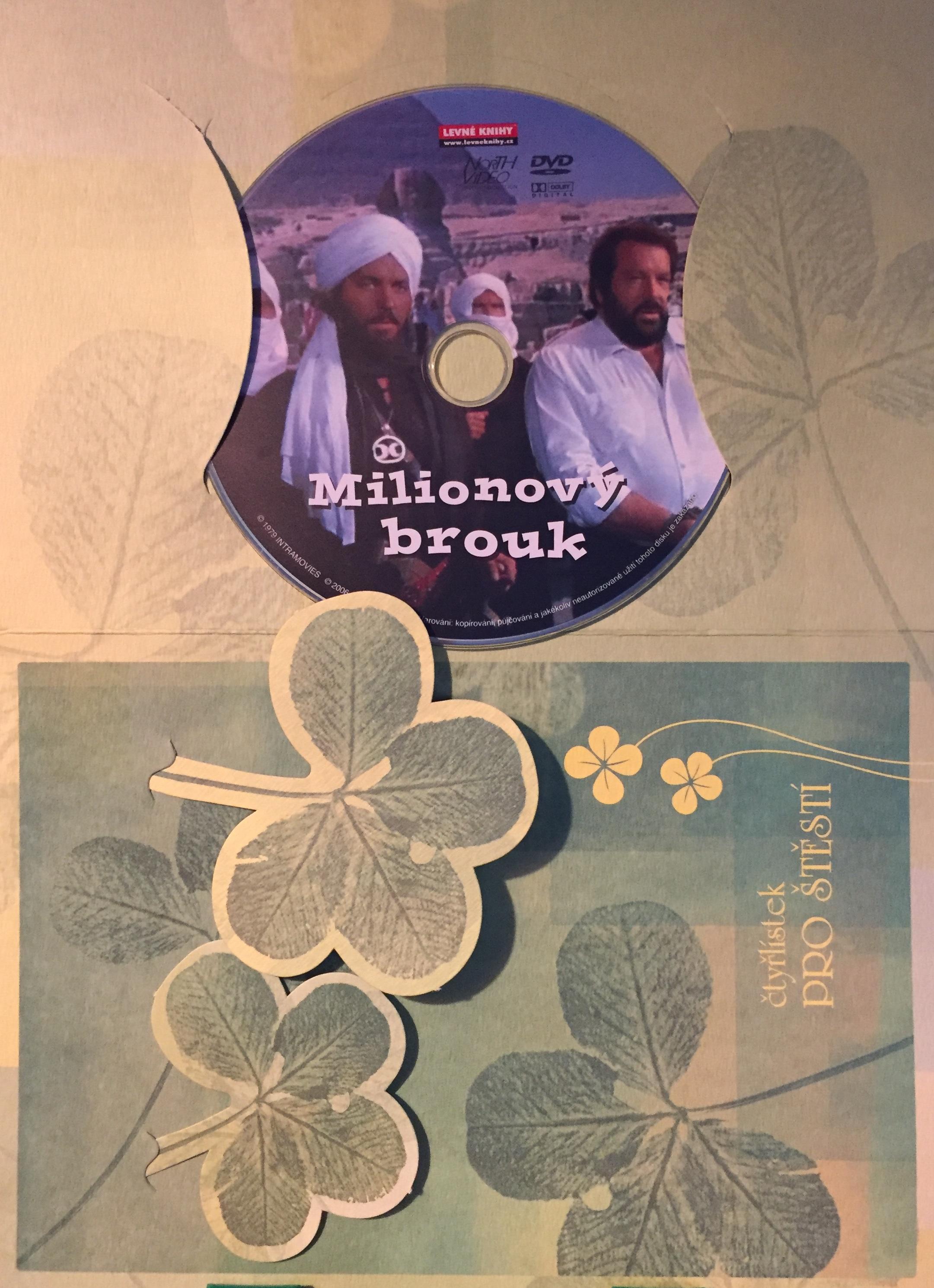 Milionový brouk - DVD /dárkový obal/
