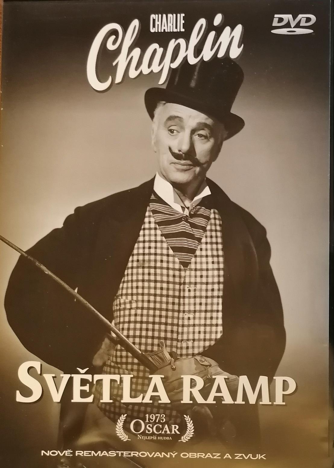 Charlie Chaplin - Světla ramp - DVD plast