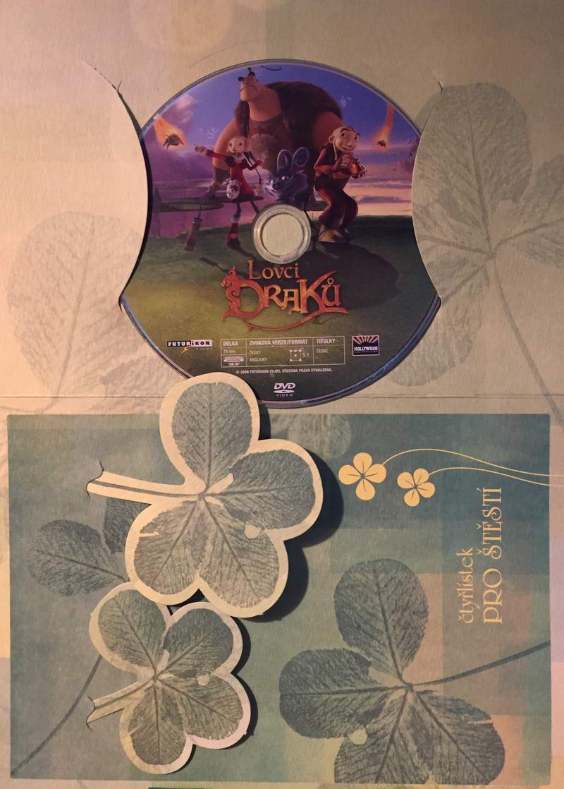 Lovci draků - DVD /dárkový obal/