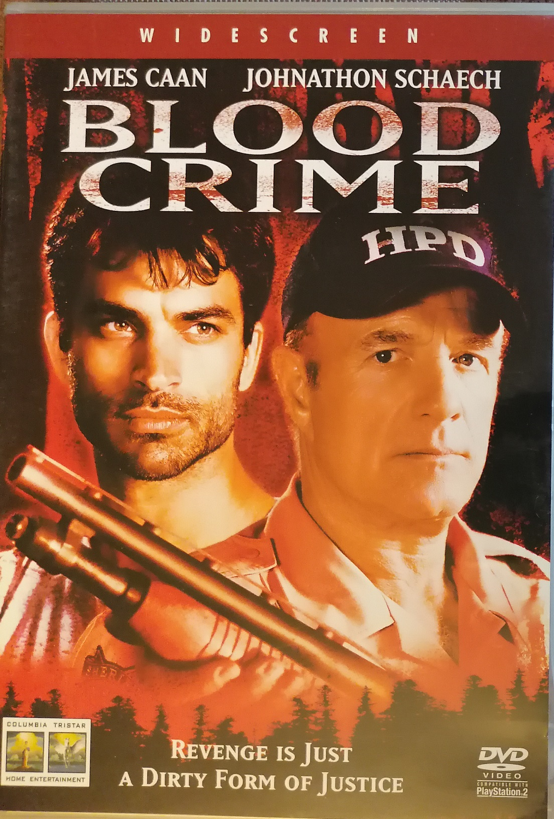 Blood crime ( Krvavý zločin ) - DVD plast