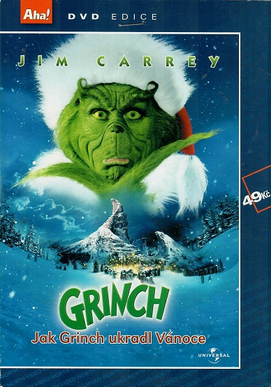 Grinch - Jak Grinch ukradl Vánoce ( pošetka ) DVD