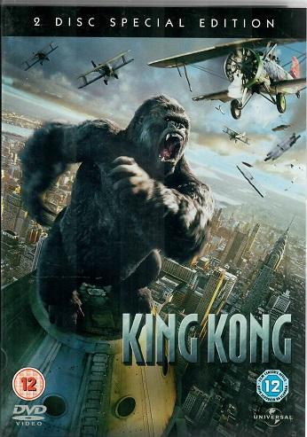 King kong. 2 disc special edition ( originální znění, BEZ CZ titulků ) plast DVD