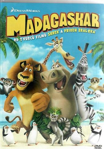Madagaskar - plast DVD