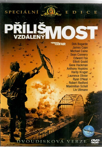 Příliš vzdálený most 2 DVD ( originální znění, titulky CZ ) bazarové zboží plast DVD