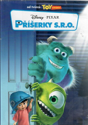 Příšerky s.r.o. ( bazarové zboží ) plast DVD