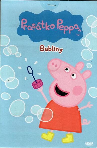 Prasátko Peppa - Bubliny - DVD pošetka