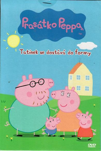 Prasátko Peppa 3 - Tatínek se dostává do formy ( bazarové zboží ) pošetka DVD