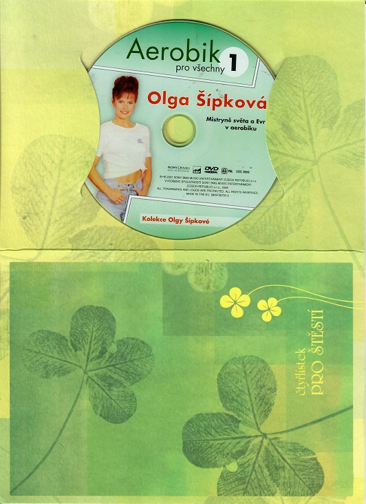 Aerobik pro všechny 1 - Olga Šípková ( dárkový papír obal ) DVD