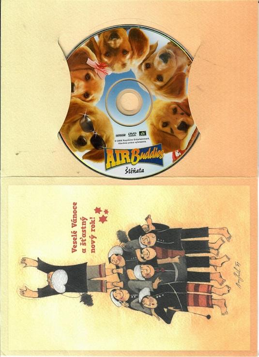 Air Buddies - Štěňata ( dárkový papír obal ) DVD