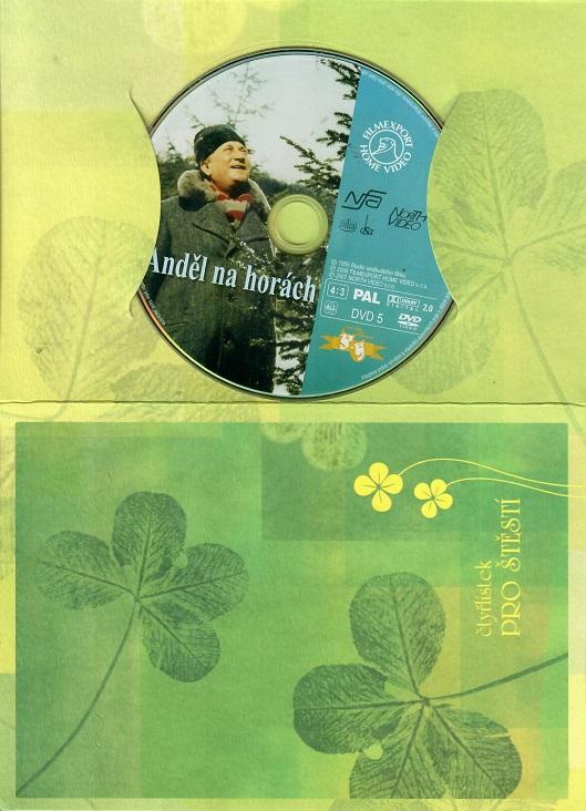 Anděl na horách ( Dárkový papír obal ) DVD