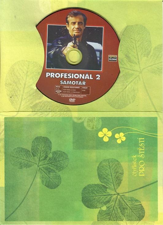Profesionál 2 - Samotář ( dárkový papír obal ) DVD