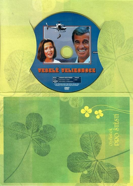 Veselé Velikonoce ( dárkový papír obal ) DVD