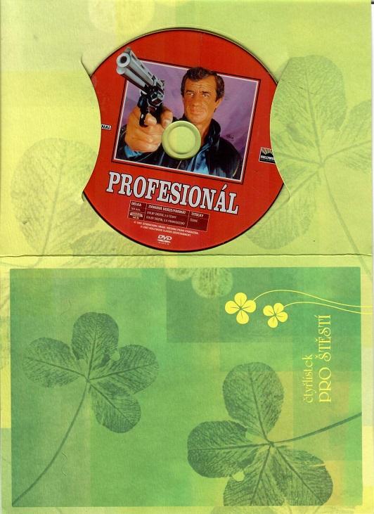 Profesionál (Belmondo)  - Dárkový papír obal DVD