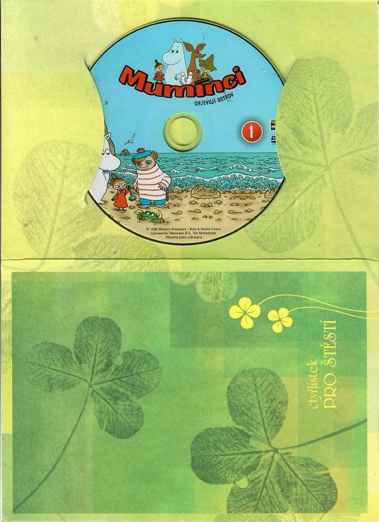 Mumínci 1 - Objevují ostrov ( dárkový papír obal ) DVD