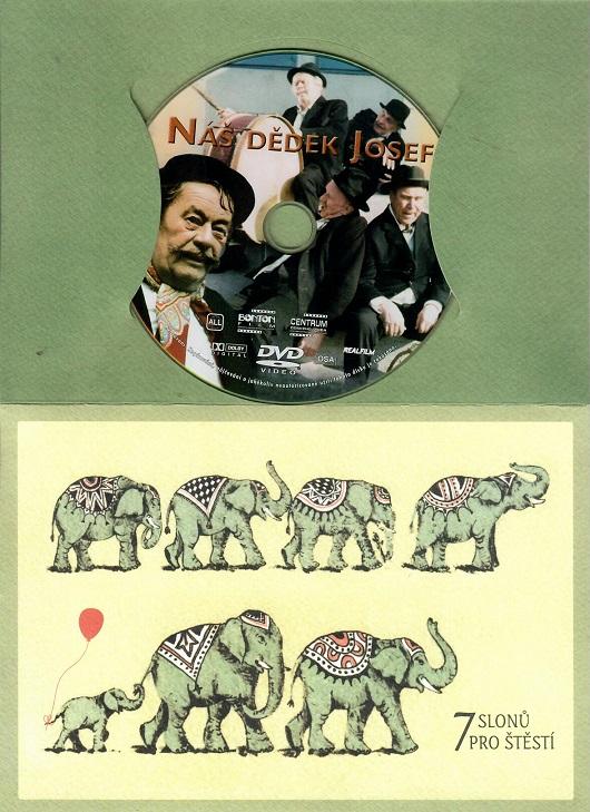 Náš dědek Josef ( dárkový papír obal ) DVD