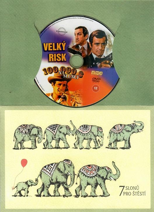 Velký risk + 100 000 $ na slunci ( dárkový papír obal ) DVD