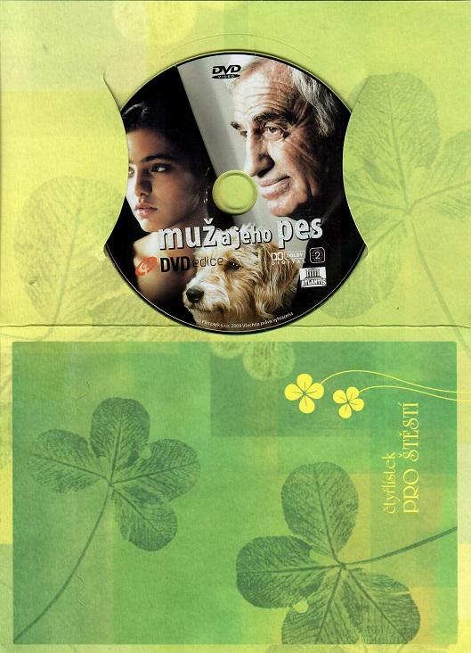 Muž a jeho pes ( dárkový papír obal ) DVD
