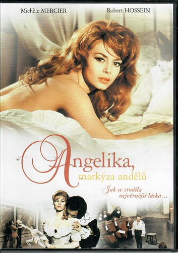 Angelika, markýza andělů ( plast ) DVD