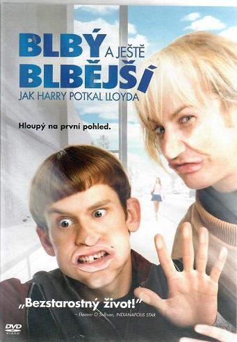 Blbý a ještě blbější: Jak Harry potkal Lloyda ( plast ) DVD