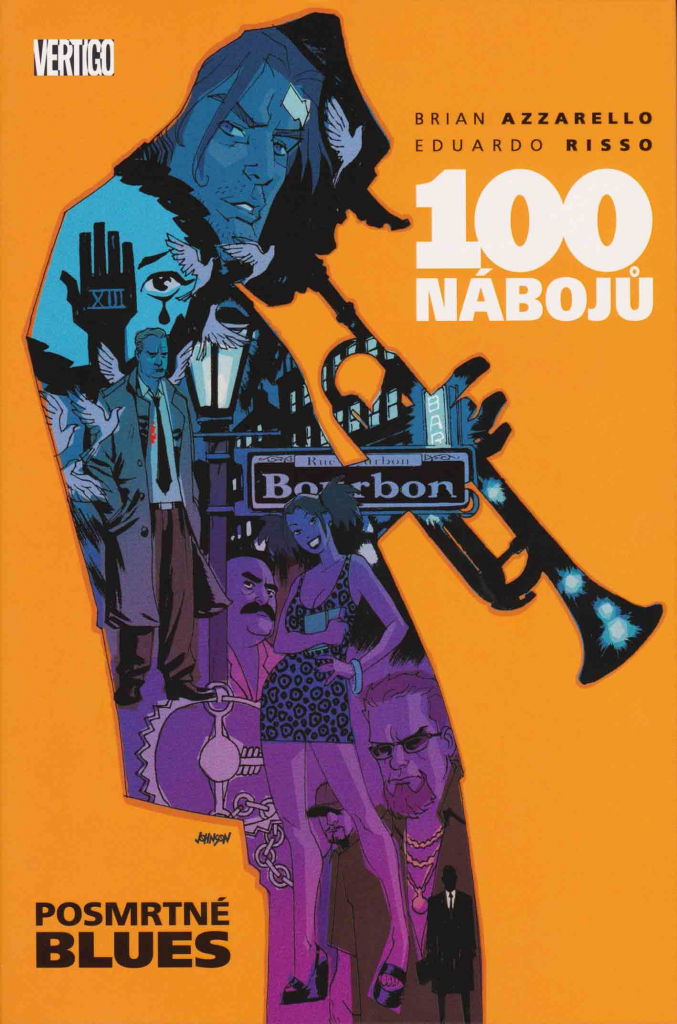 100 nábojů 8 - Posmrtné blues - Brian Azzarello/Eduardo Risso /bazarové zboží/