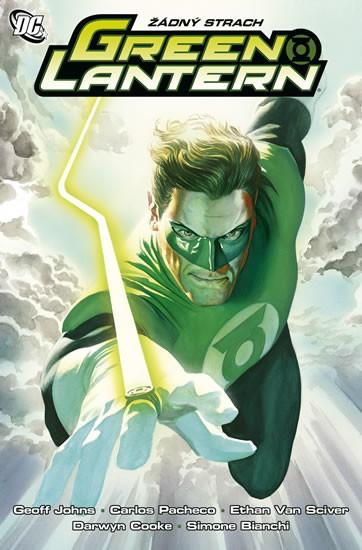 Green Lantern - Žádný strach - Geoff Johns /bazarové zboží/