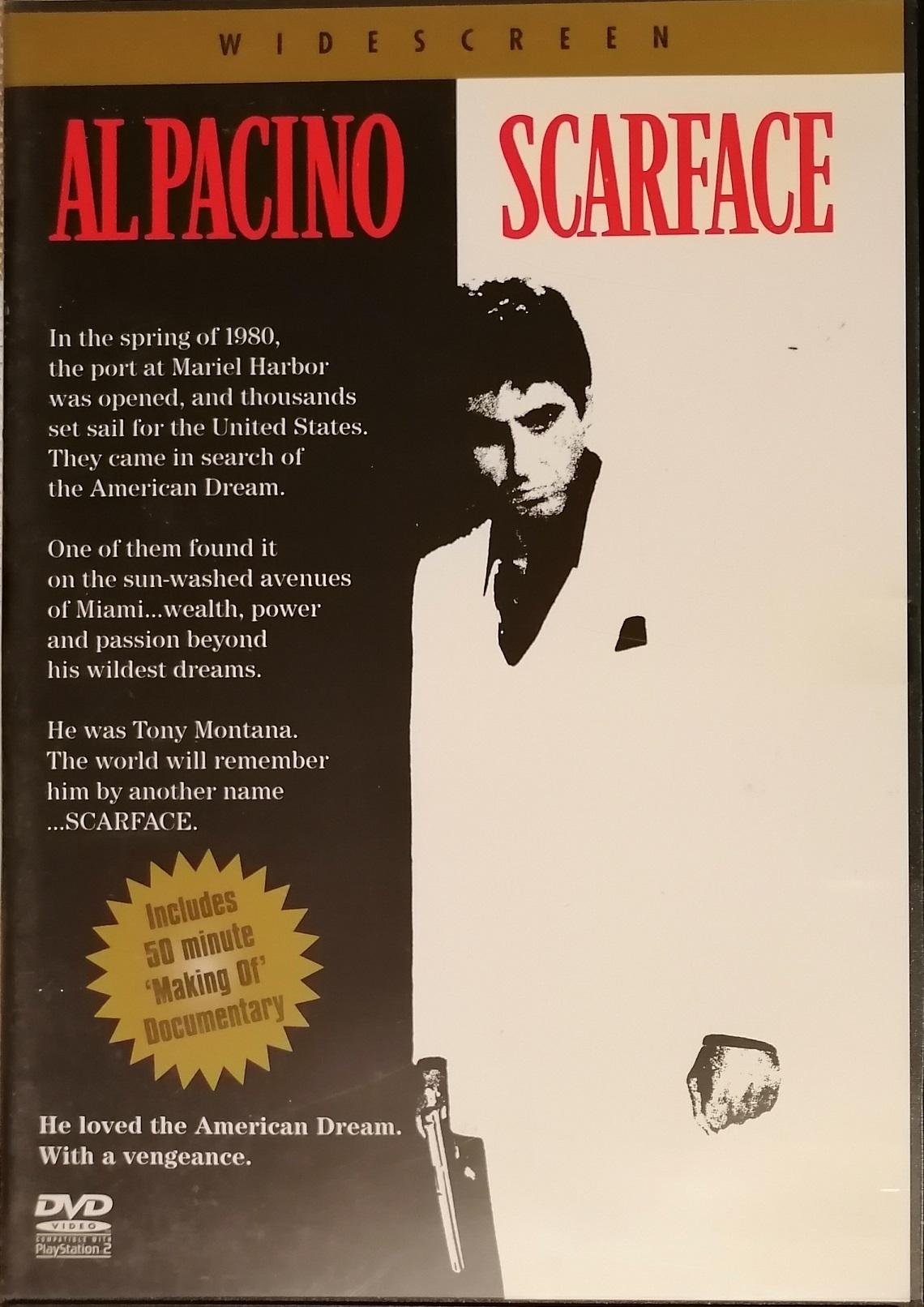 Scarface / Zjizvená tvář ( originální znění, titulky CZ ) plast DVD