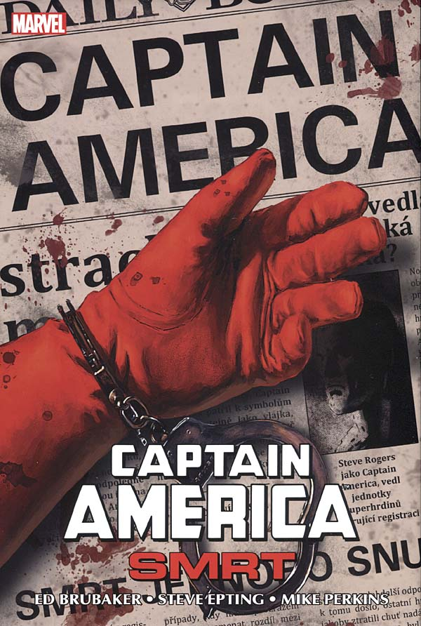 Captain America - Smrt - Ed Brubaker/Steve Epting/Mike Perkins /bazarové zboží