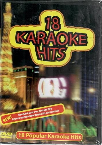 18 Karaoke Hits ( plast ) DVD