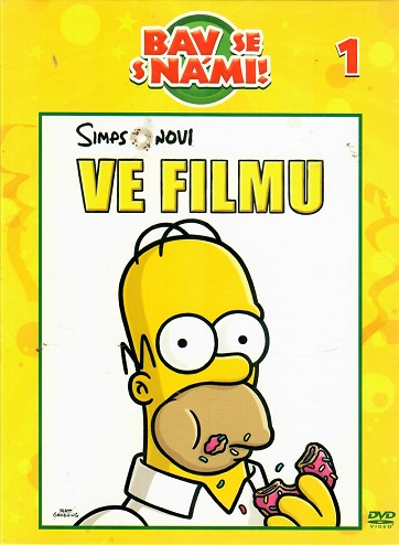 Simpsonovi ve filmu ( digipack ) - DVD