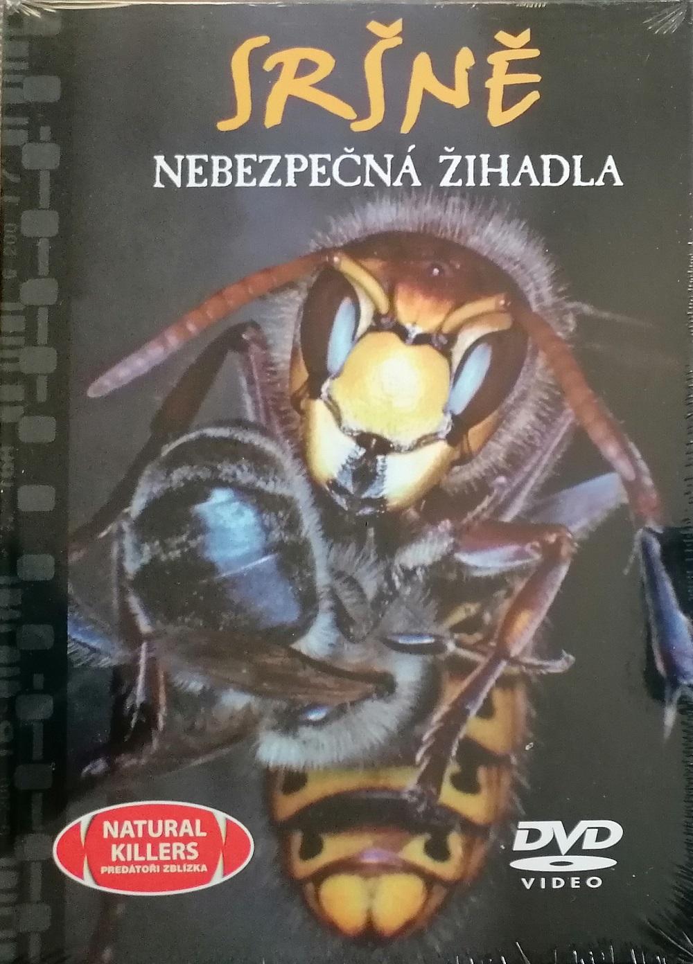 Sršně - Nebezpečná žihadla - DVD + brožura