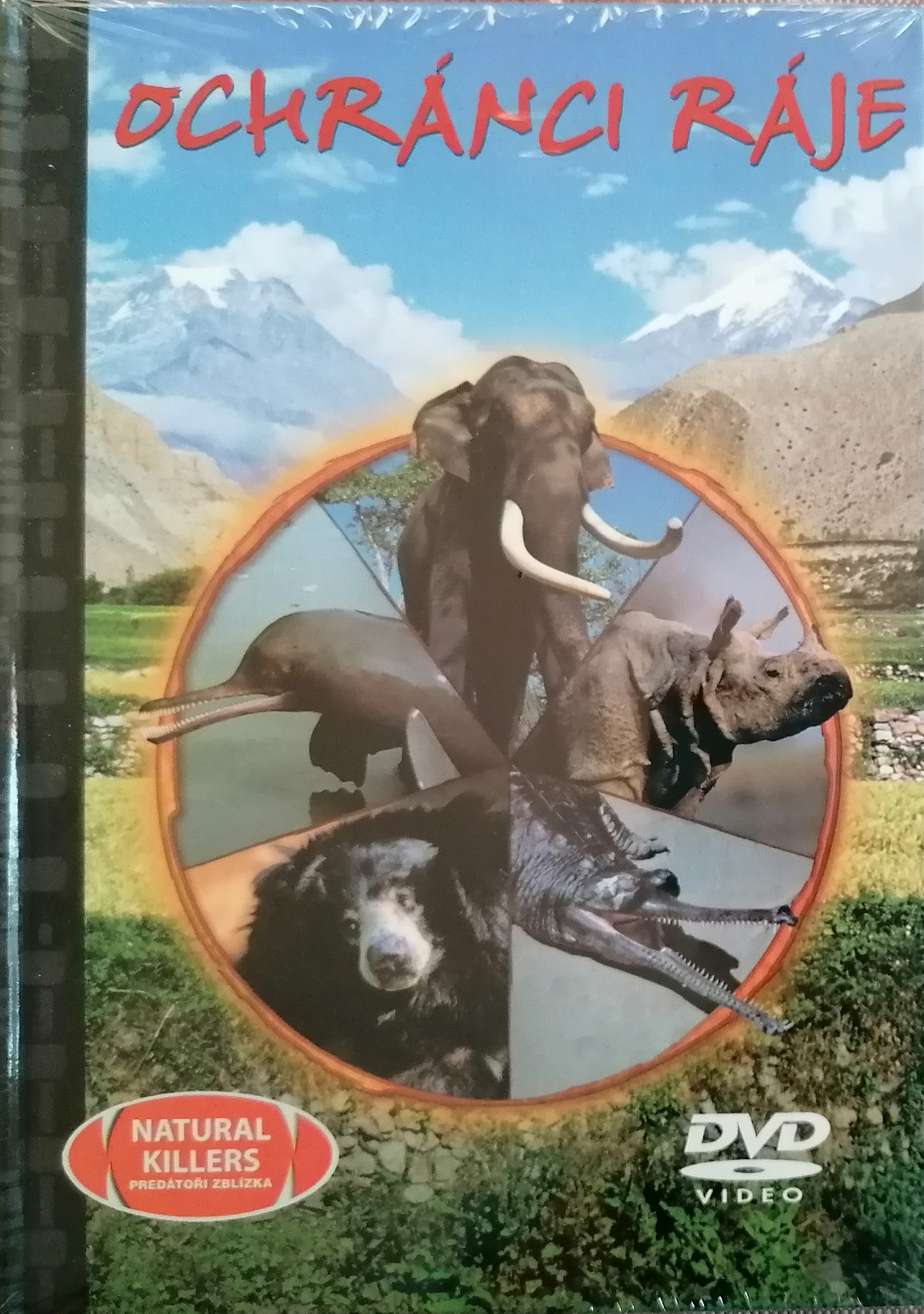 Ochránci ráje - DVD + brožura