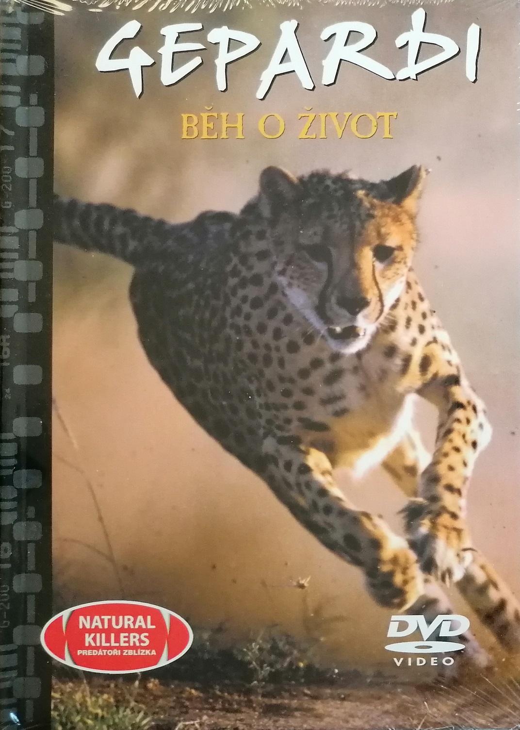 Gepardi - Běh o život - DVD + brožura