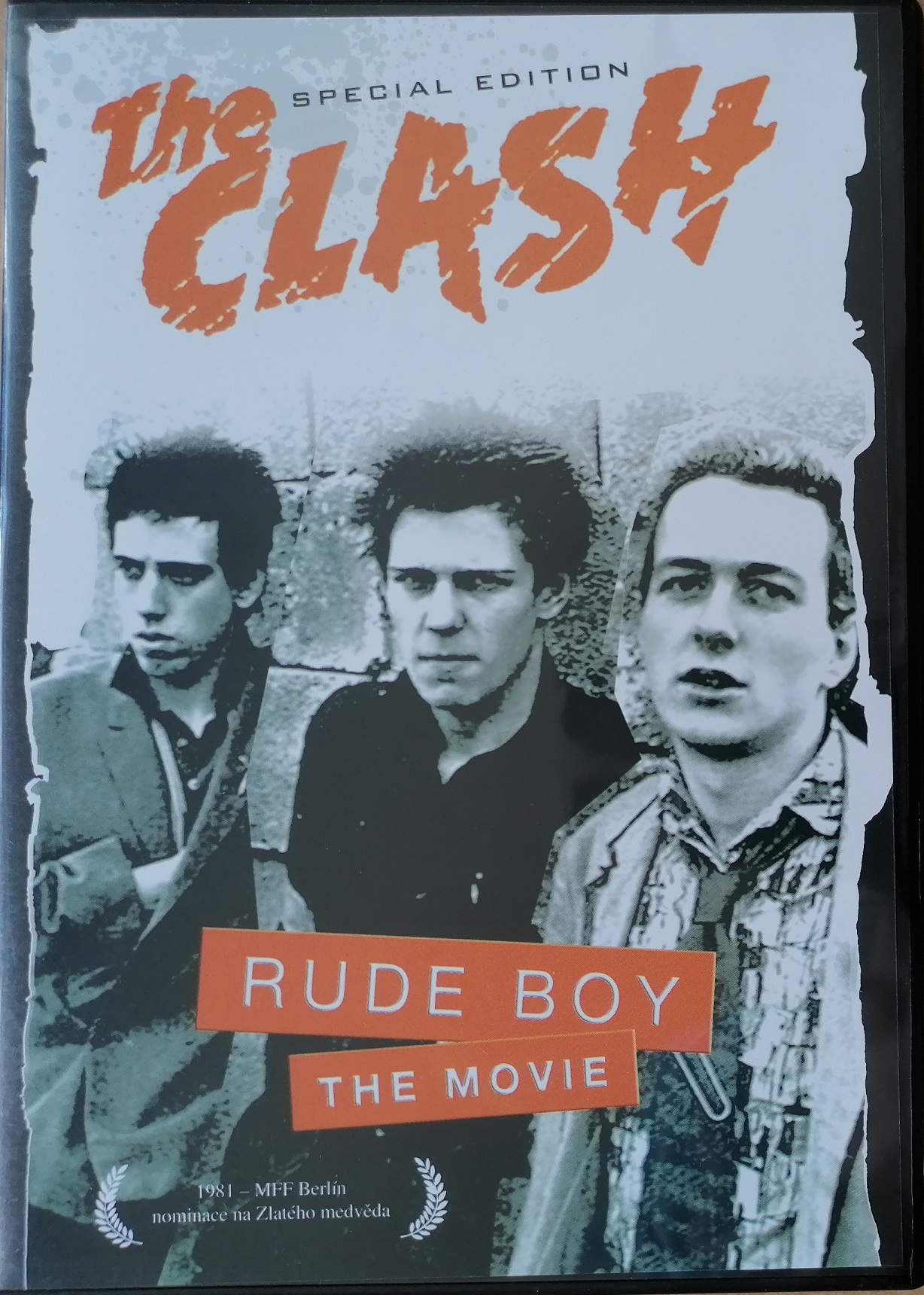 The Clash - Rude boy - DVD plast