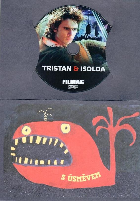 Tristan a Isolda - DVD -dárková obálka