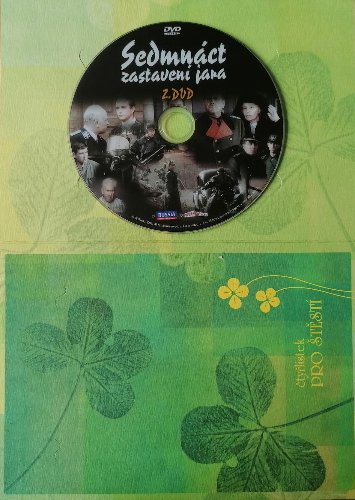 Sedmnáct zastavení jara - DVD 2 - dárková obálka