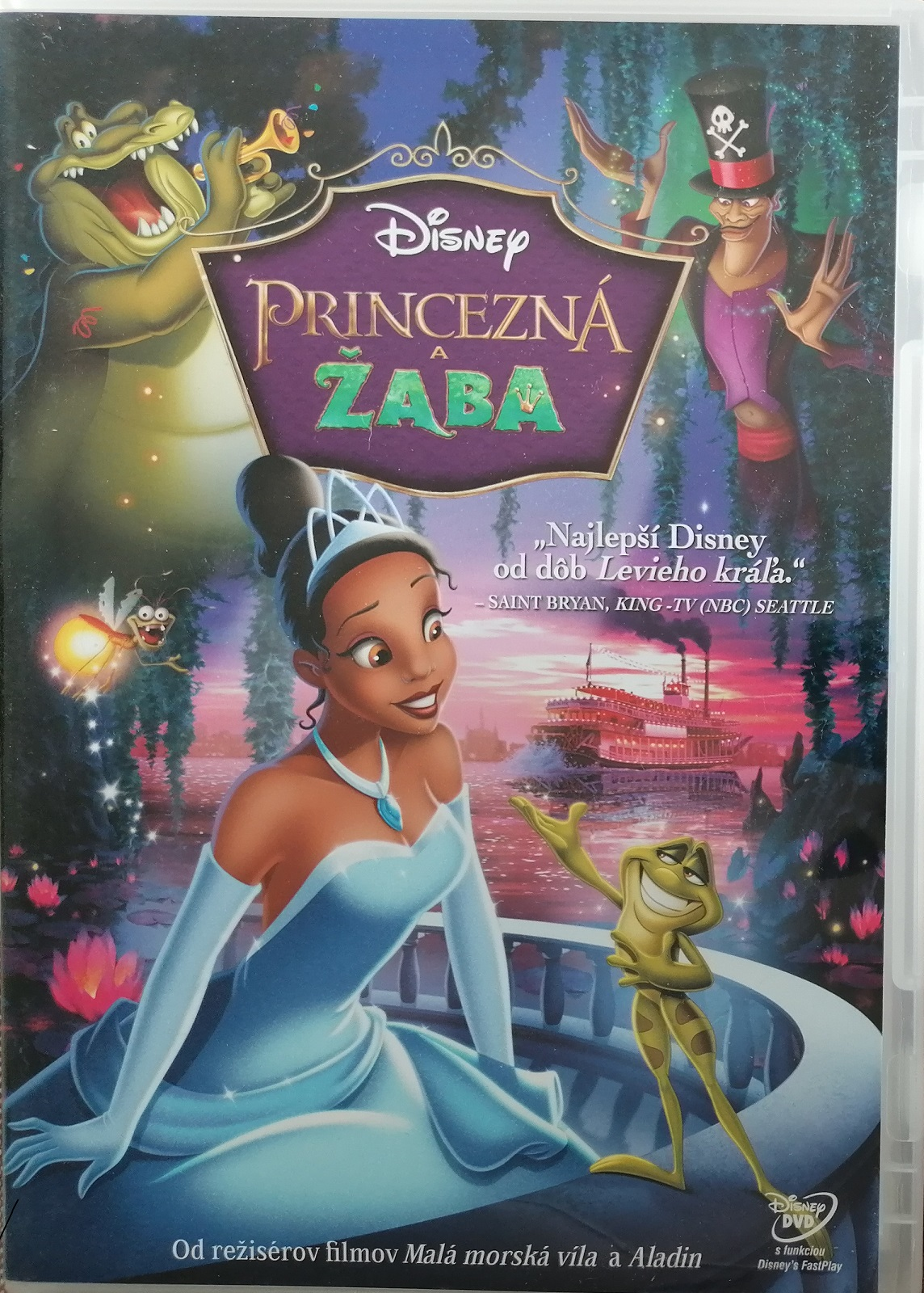 Princezná a žaba ( Princezna a žabák ) - DVD plast