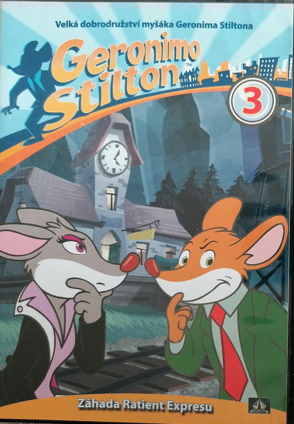 Myšák Geronimo Stilton 3 - DVD plast