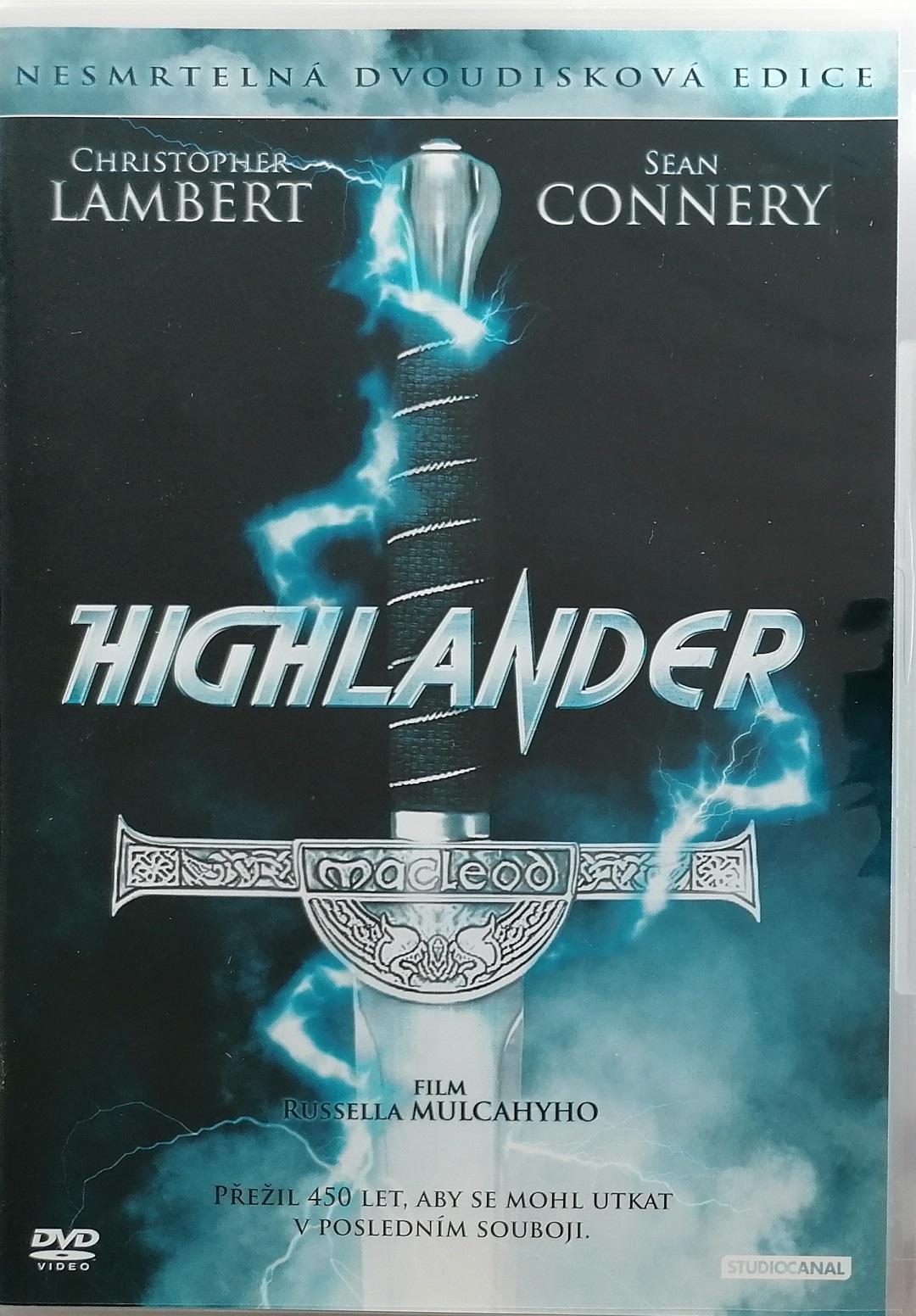 Highlander - 2 DVD plast