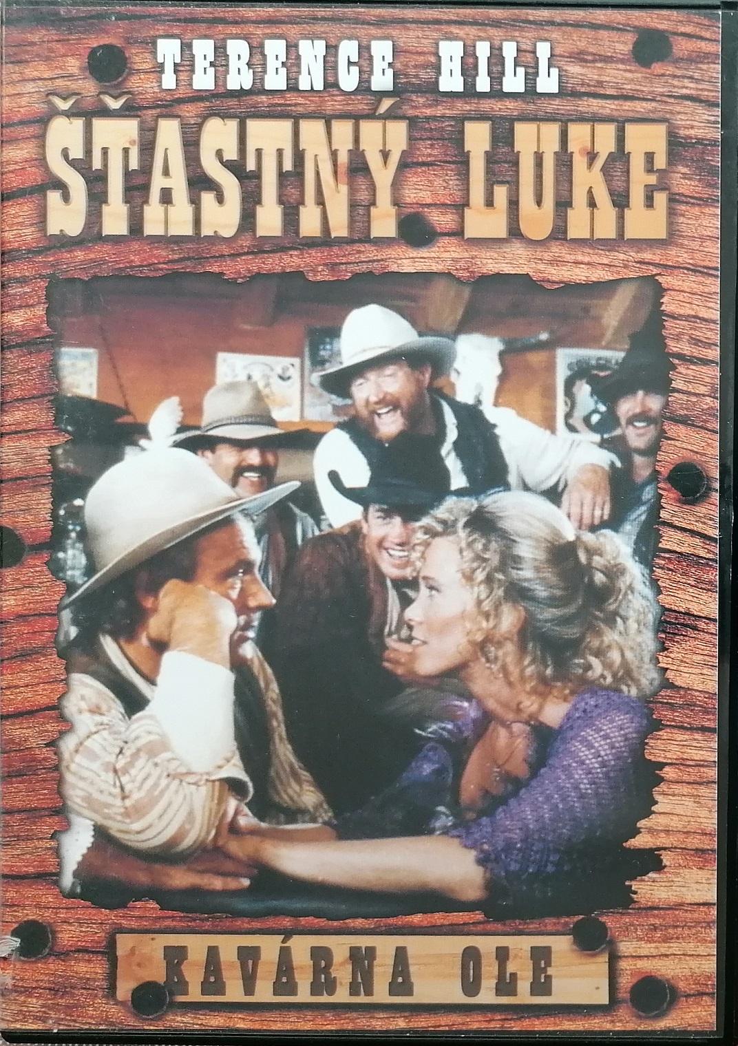 Šťastný Luke - Kavárna Ole - DVD plast