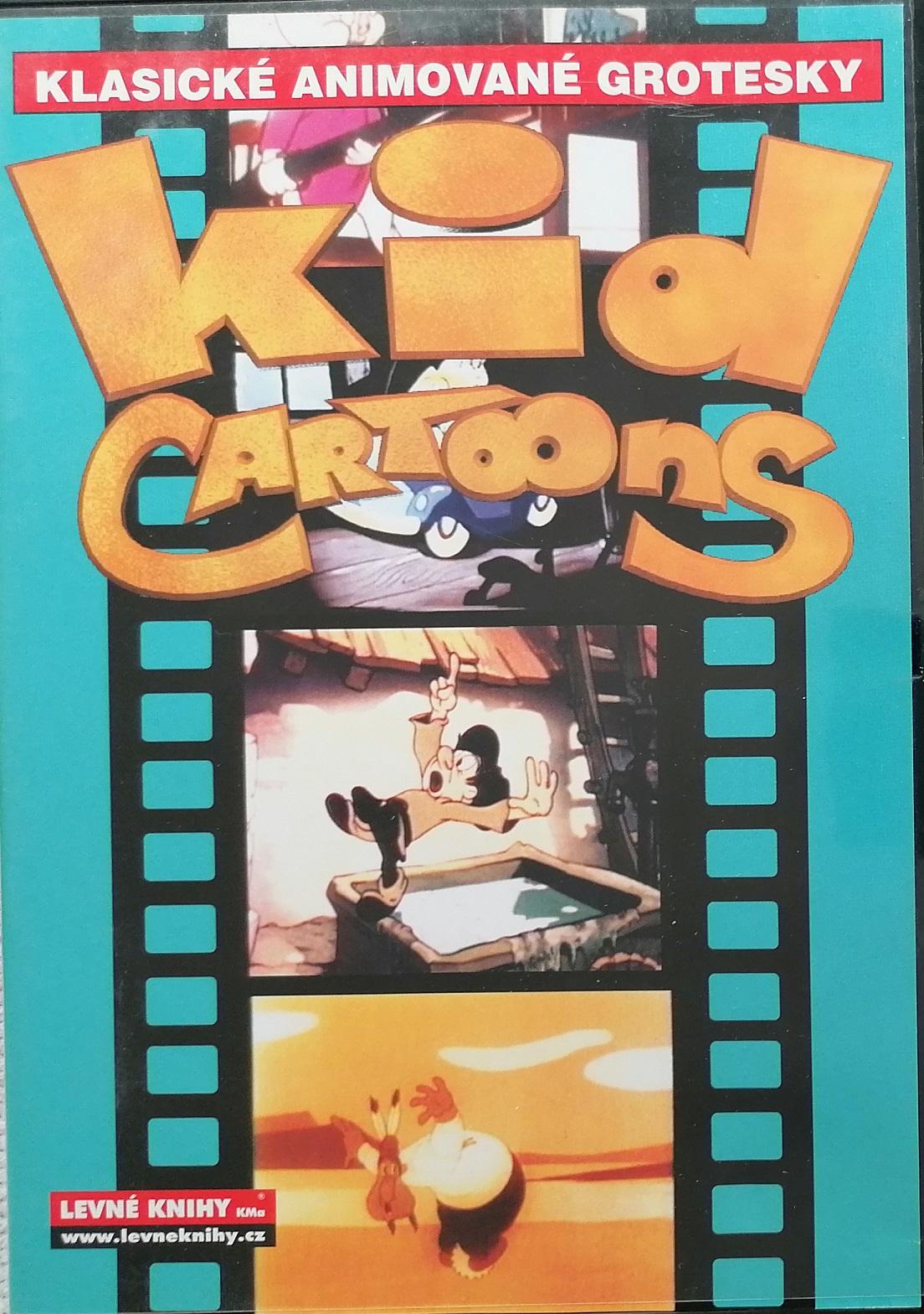 Klasické animované grotesky - Kid Cartoons - DVD plast