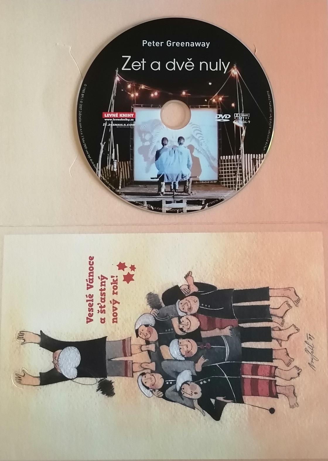 Zet a dvě nuly - DVD - dárková obálka