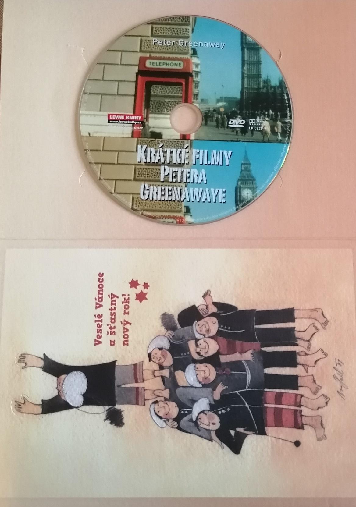 Krátké filmy Petera Greenawaye ( originální znění, titulky CZ ) - DVD - dárková obálka