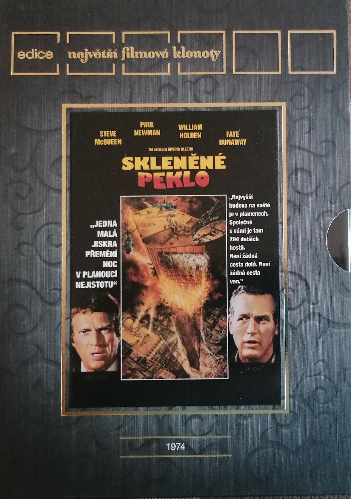 Skleněné peklo - DVD plast