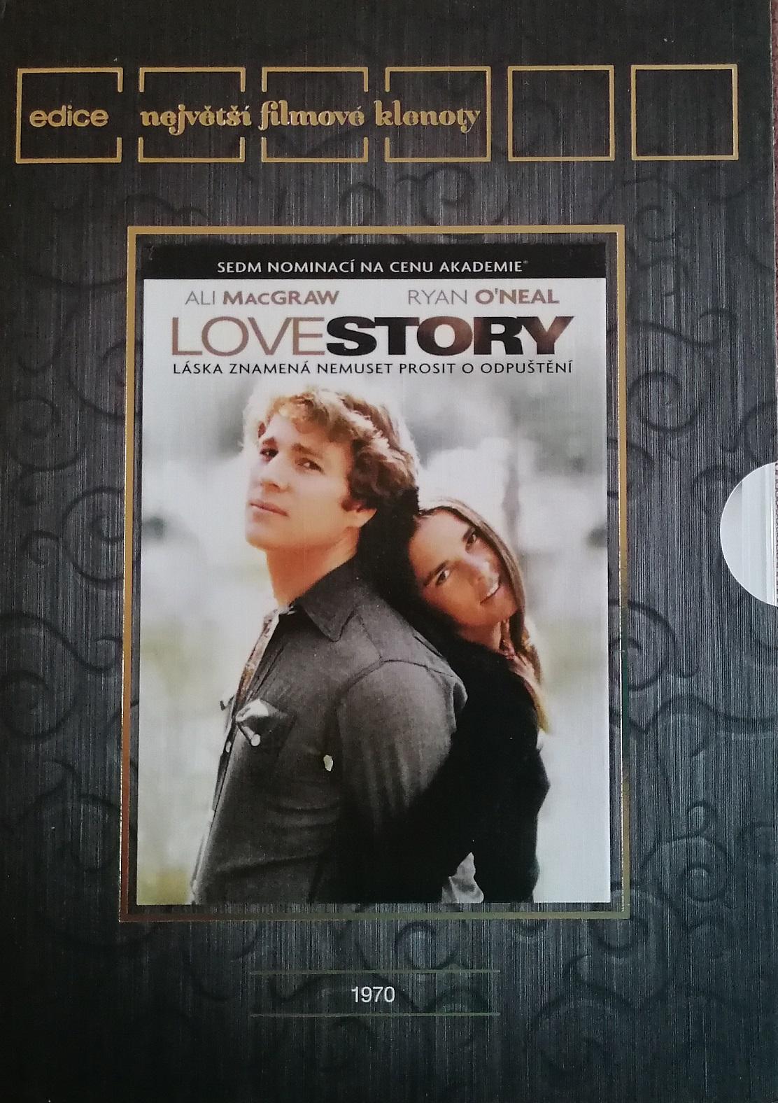 Love story - DVD plast