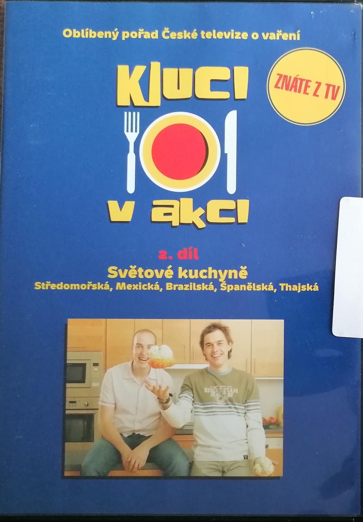 Kluci v akci 2. díl - DVD plast