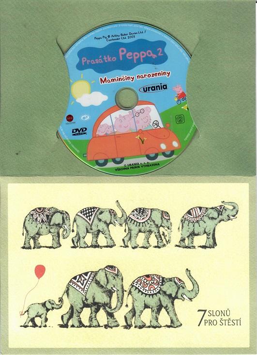 Prasátko Peppa 2 - Maminčiny narozeniny ( Dárkový papír obal ) DVD