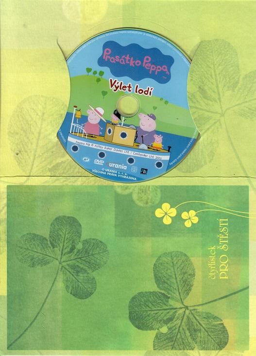 Prasátko Peppa - Výlet lodí ( dárkový papír obal ) DVD